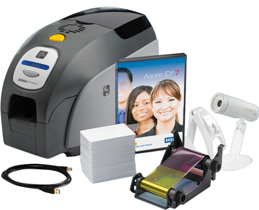 Single Sided Photo ID System