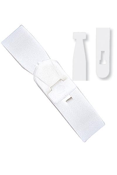 Clear Plastic Vinyl Patio Curtains Walls: Plastic Luggage Tag Straps