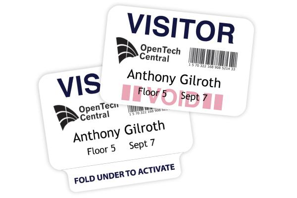3 Reasons to Use Expiring Visitor Badges