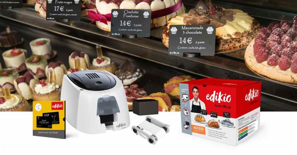 Evolis Edikio Printers Create a New Visual Standard for Hospitality and Food-Service Displays