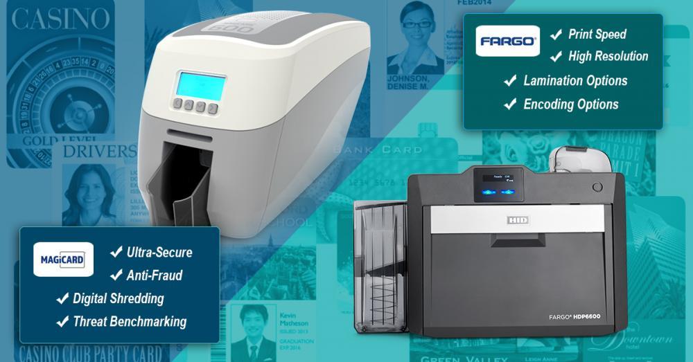 Magicard 600 and Fargo HDP6600 Card Printers