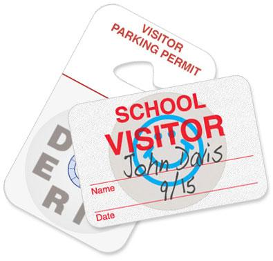 Convenient Accessories and Cameras for Visitor Badges