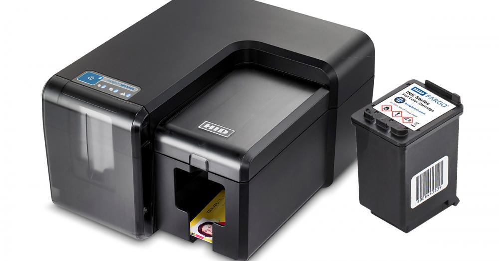 Fargo INK1000 Single-Sided Thermal Inkjet ID Card Printer