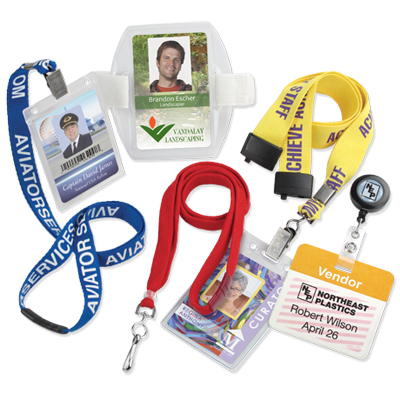 No ID card program is complete without accessories!