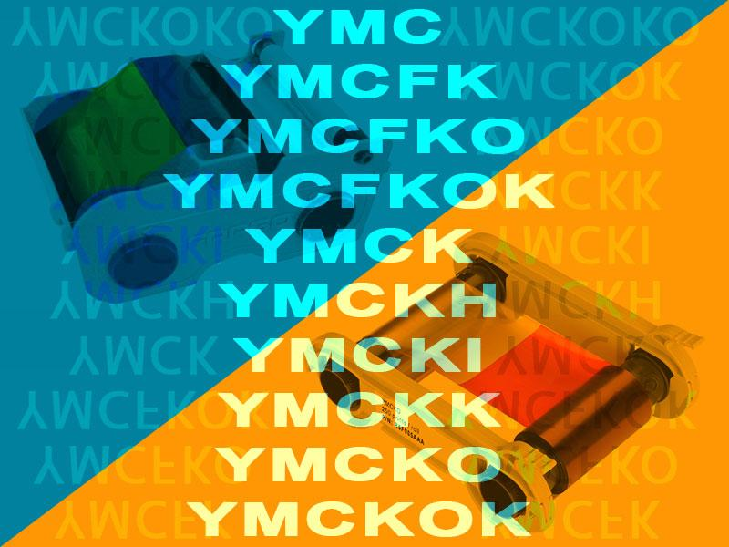 What does YMCKO stand for?
