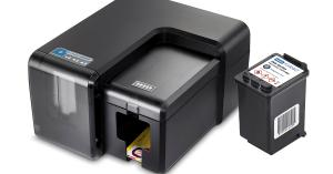 Fargo INK1000 Single-Sided Thermal Inkjet ID Card Printer