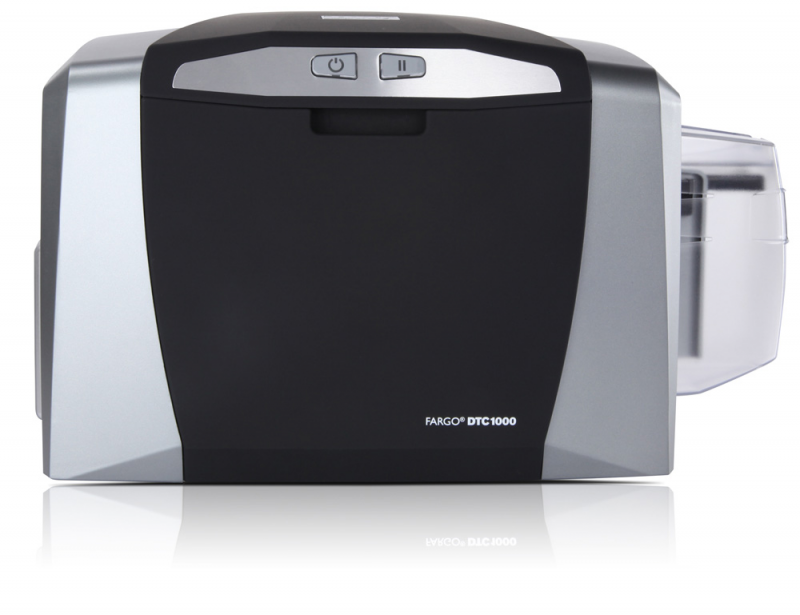 Top-selling ID card printers of 2013. #1: Fargo DTC1000