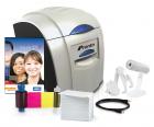 Complete ID Card Printer Bundle: Magicard Pronto ID Printer, SoftBadge Creator ID Software