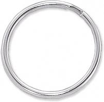 Nickel Plated Split Ring