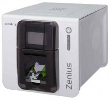 Evolis Zenius Single Sided ID Card Printer - Grey Brown