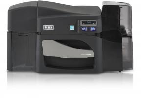 Fargo DTC4250e Dual Sided ID Card Printer Same-Side Input/Output Card Hopper