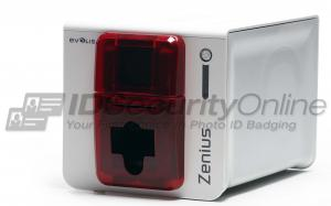 Evolis Zenius Classic Single Sided ID Card Printer - Fire Red