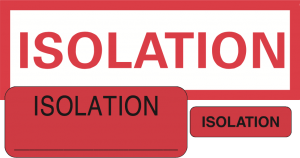 Isolation Labels & Tape