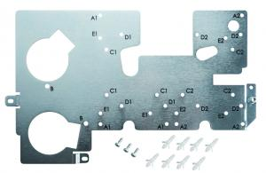 Evolis Primacy Encoders Mounting Plate Kit