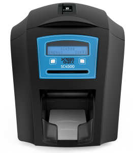 ScreenCheck SC4500 Dual-Sided ID Card Printer