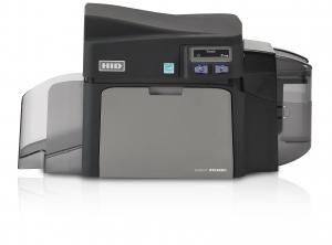 Fargo DTC4250e Single Sided ID Card Printer w/ Ethernet