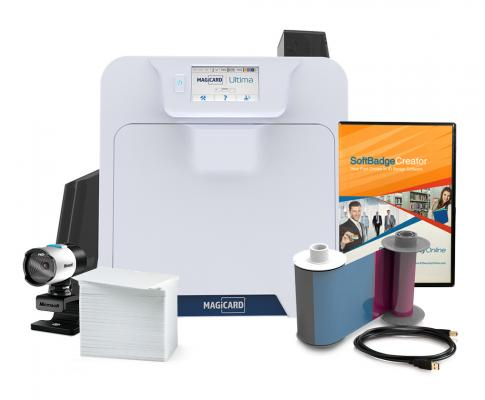 Magicard Ultima Single Sided ID Card System
