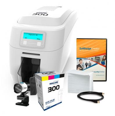 Magicard 300 Single Sided ID Card System