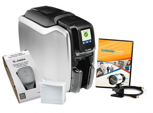 Zebra ZC300 Dual Sided Photo ID System