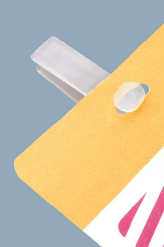 Cardclip (Clear Plastic)