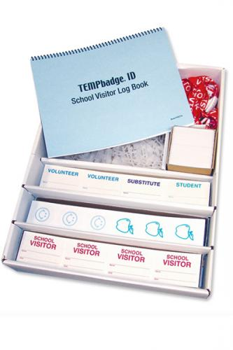 MANUAL SCHOOL TIMEBADGE EXPIRING BADGE SOLUTION PACK. BADGE EXPIRATION PERIOD IS ONE-DAY AND HALF-DAY. INCLUDES 1,000