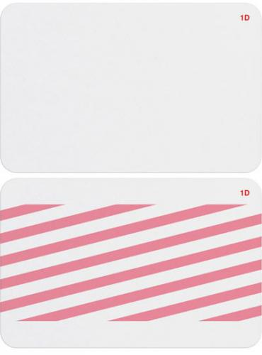 1-Day Single-Piece Adhesive Expiring Badge (Thermal Printable)