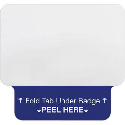 1-Day Single-Piece Adhesive Tab-Expiring Badge