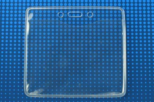 PureClear® Badge Holders — Horizontal, 4