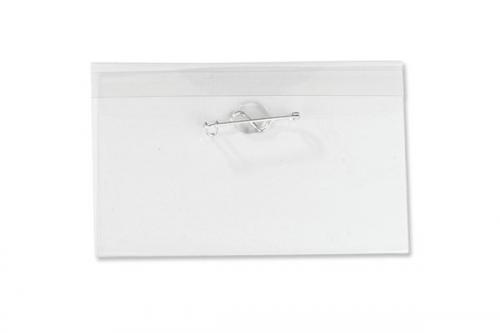 Name Tag Holder with Nickel Plated Steel Pin