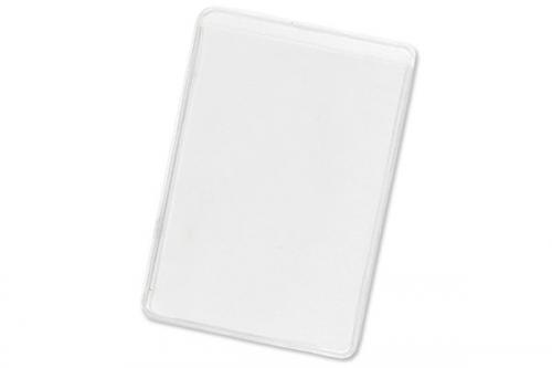 Clear Vinyl Business Card Holder