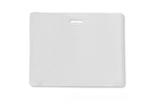Frosted-Back Proximity Card Holder