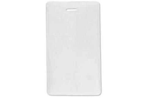 Frosted-Back Vertical Proximity Card Holder