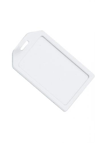 Rigid Plastic Luggage Tag Holder