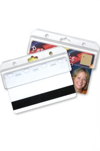 Frosted Horizontal Half Card Holder