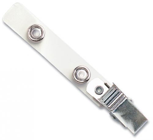 Mylar Strap Clip with NPS Knurled Thumb-Grip Clip