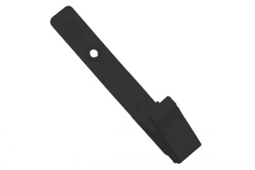 Plastic Strap Clip with Knurled Thumb-Grip