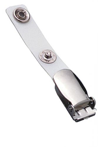 Reinforced Vinyl Strap Clip with NPS Suspender Clip