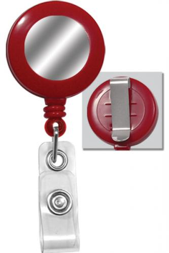 Round Badge Reel Red Round