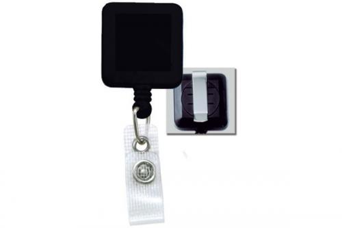 Badge Reel with Reinforced Vinyl Strap