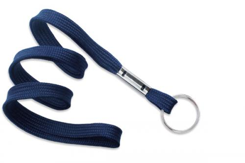 Lanyard with Nickel-Plated Steel Split Ring