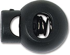Black Adjustable Neck Cord Lock