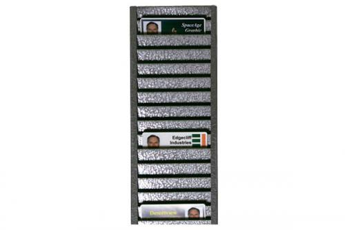 Id Badge Rack, Horizontal