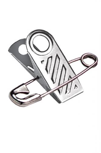 "1"" (25mm) Ribbed-Faced Pin Clip"