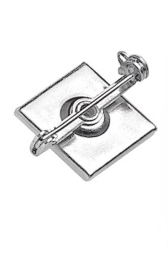 Pressure-Sensitive Nickel-Plated Steel Bar Pin, 1 1/4