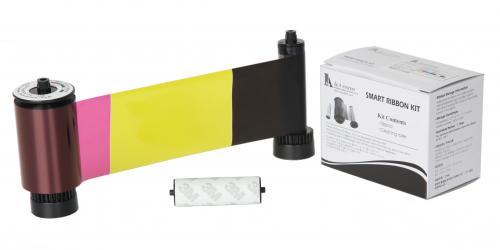 IDP Smart Full Color Ribbon - YMCKOK - 200 Prints