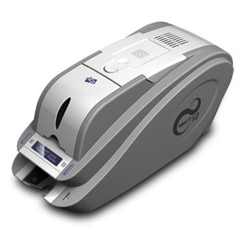 IDP Smart 50S Single Sided ID Card Printer with Ethernet and Magnetic Encoding