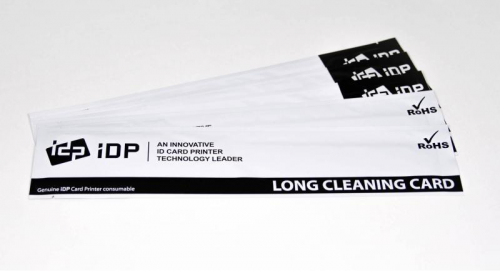 Long sleeve cleaning card kit for automatic cleaning (10pcs)