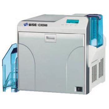 IDP Wise CXD80S Single Sided ID Card Printer with Single Sided Lamination and Magnetic Encoding