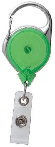Carabiner Reel With Strap (Translucent)
