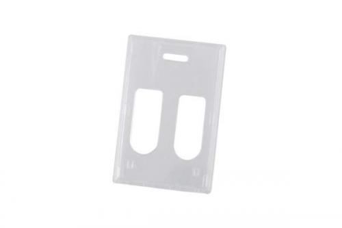 Rigid wear® Polycarbonate 2 Card Badge Holder